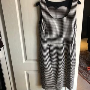 Banana republic striped dress
